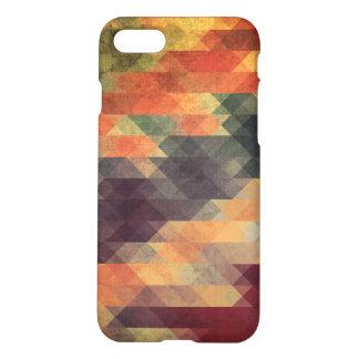 Colores llevados rayas intrépidas geométricas funda para iPhone 7