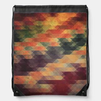 Colores llevados rayas intrépidas geométricas mochilas