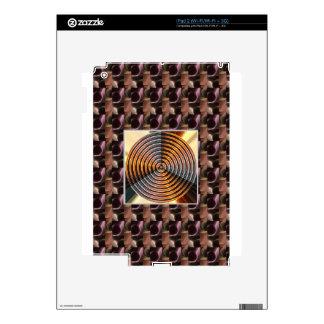 Colores metálicos: La RUEDA cura vibraciones Calcomanías Para iPad 2
