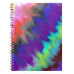 Colores mezclados cuadernos
