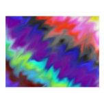 Colores mezclados postal
