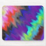 Colores mezclados tapetes de ratón
