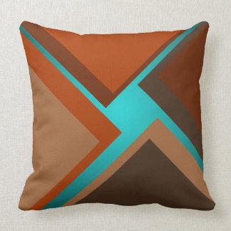 Colores minimalistas del otoño de la almohada de
