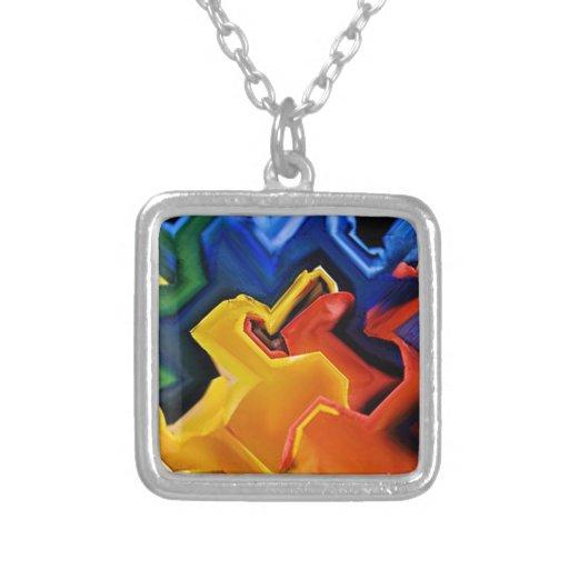 Colores multi geométricos grimpola personalizada