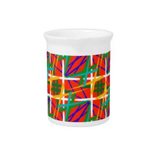 Colores múltiples jarras