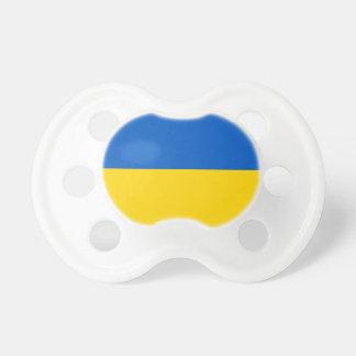 Colores nacionales ucranianos - bandera chupete