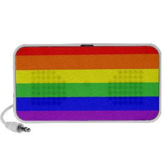 colores orgullosos gay del homosexual del arco iri mini altavoces