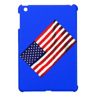 Colores patrióticos iPad mini protectores