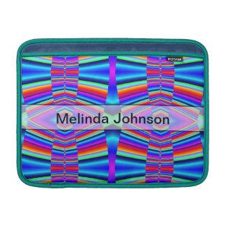Colores personalizados del arco iris fundas macbook air