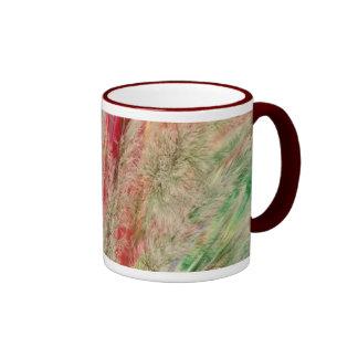 Colores plumosos taza