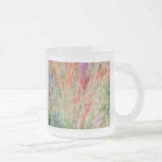 Colores plumosos tazas