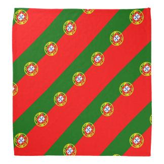 Colores portugueses del pañuelo el | de la bandera bandana