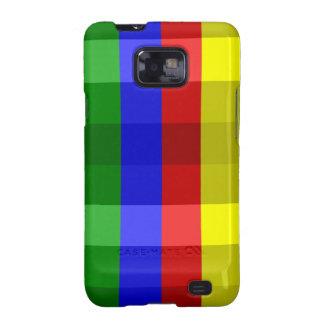 Colores primarios, caja de la Control-Galaxia s2 Samsung Galaxy SII Carcasa