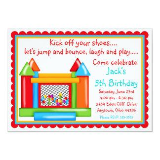Colores primarios de las invitaciones del invitación 12,7 x 17,8 cm