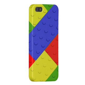 Colores primarios de los bloques huecos del iPhone 5 funda