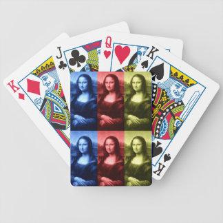 Colores primarios de Mona Lisa Baraja Cartas De Poker