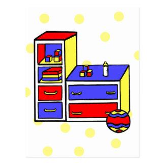 colores primarios del aparador postales