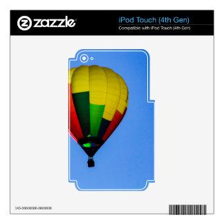 Colores primarios iPod touch 4G calcomanía