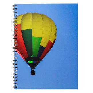 Colores primarios libros de apuntes con espiral