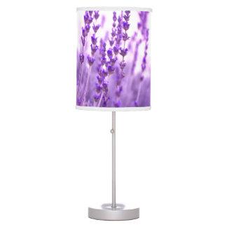 colores púrpuras del chakra de la materia textil d lámpara de mesa