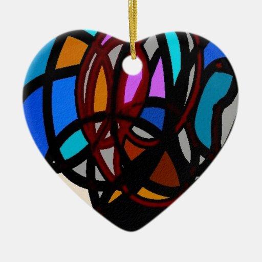 colores salvajes, abstractos adornos