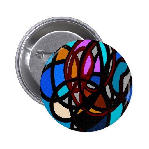 colores salvajes, abstractos pin