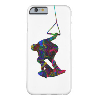 Colores salvajes del Wakeboarder Funda De iPhone 6 Barely There