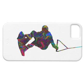 Colores salvajes del Wakeboarder iPhone 5 Carcasa