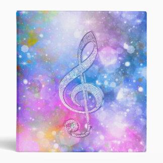 """Colores suaves brillantes impresionantes del clef carpeta 1"""""""