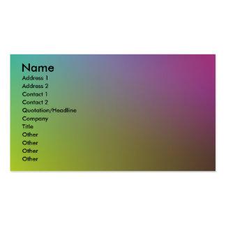 Colores Tarjetas De Visita
