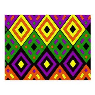 Colores temáticos del sudoeste tarjetas postales