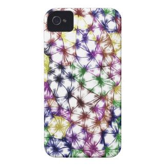 Colores triangulares carcasa para iPhone 4