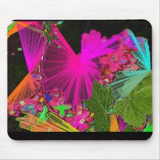 Colores tropicales alfombrillas de ratón