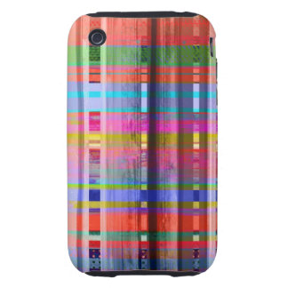 Colores únicos iPhone 3 tough coberturas