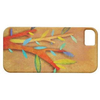 COLORES UNIDOS caso maravilloso del árbol iPhone 5 Carcasas