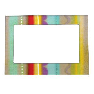 Colores unidos marco magnético marcos magneticos de fotos