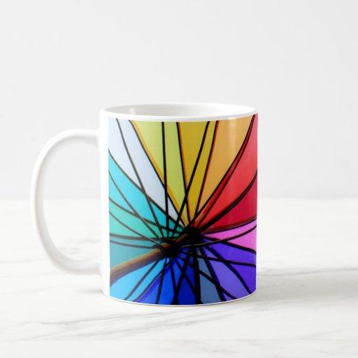 Colores verdaderos taza de café