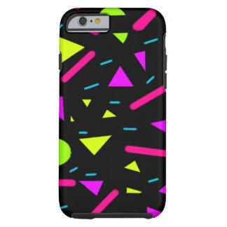 colores y caso de neón decorativos del iPhone 6/6s Funda Resistente iPhone 6