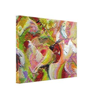 Colores y textura II Lona Estirada Galerías