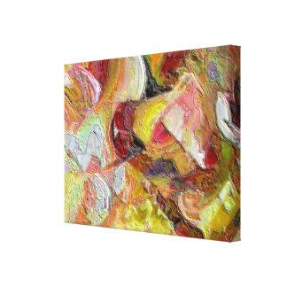Colores y texturas I Lienzo Envuelto Para Galerias