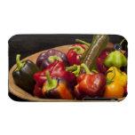 Colores y tipos mezclados de pimientas iPhone 3 carcasa