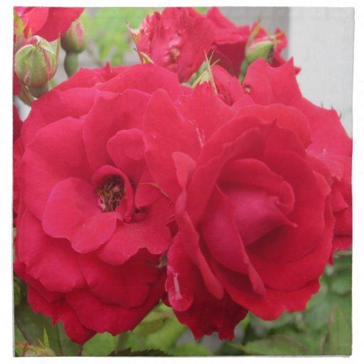 Colorete color de rosa Fleur Servilleta De Papel