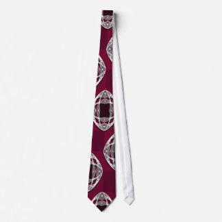 Colorete del ciruelo del tablero de damas del ojo corbata personalizada