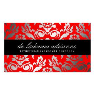 Colorete del damasco de 311 Ladonna Tarjetas De Visita