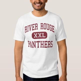 Colorete del río - panteras - alto - colorete del camisas