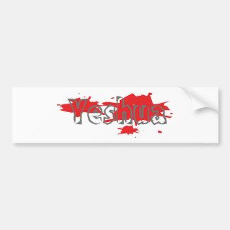 Coloretes de los taches de Yeshua Gris Pegatina Para Auto