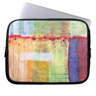 Colorfields Abstract Laptop Bag Computer Sleeve