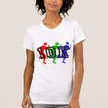 Colorful 10K runners Tshirt