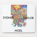 Colorful-1, SYDNEY, NOEL, TAYLOR Mouse Pad
