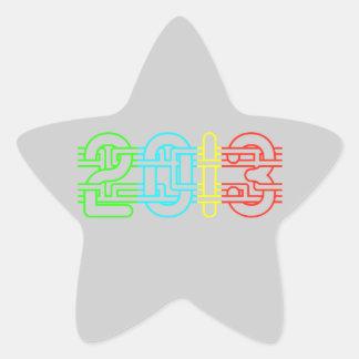 Colorful 2013 sticker